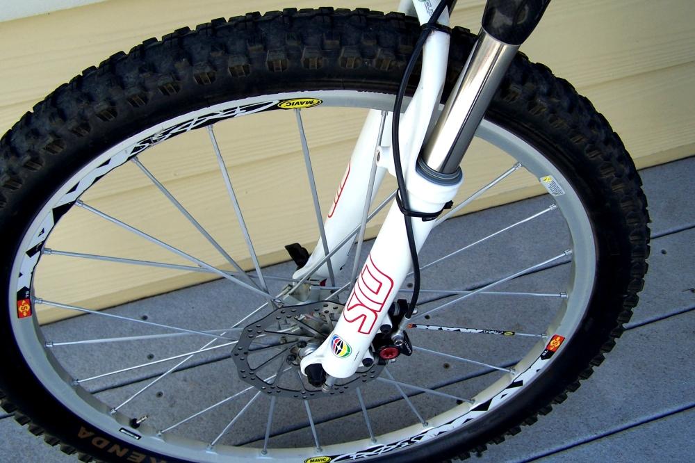 Trek Team Edition 110 Top Fuel carbon fiber mountain bike for sale (4/6)