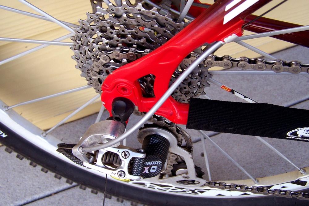 Trek Team Edition 110 Top Fuel carbon fiber mountain bike for sale (6/6)
