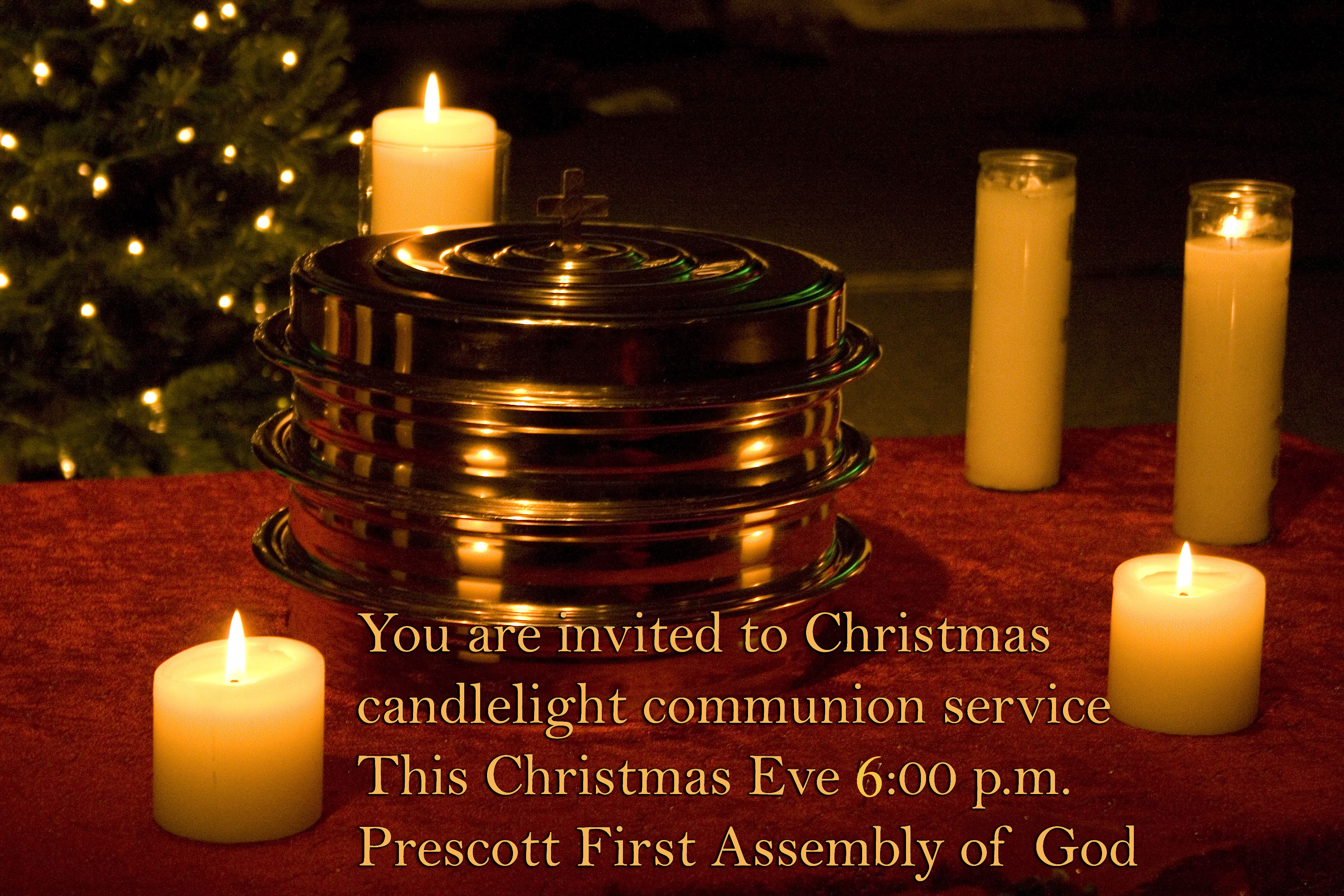 Celebration of christmas eve communion friday night december 24th