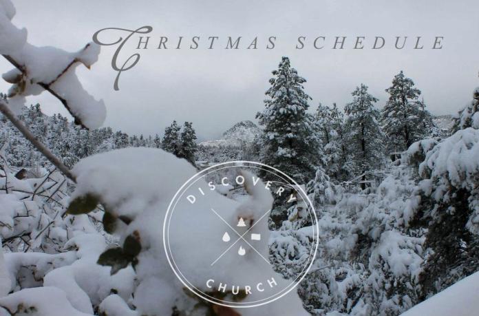 xmas-schedule